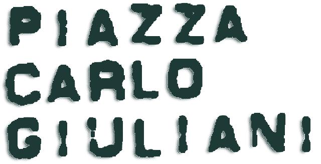 loghi Piazza Carlo Giuliani