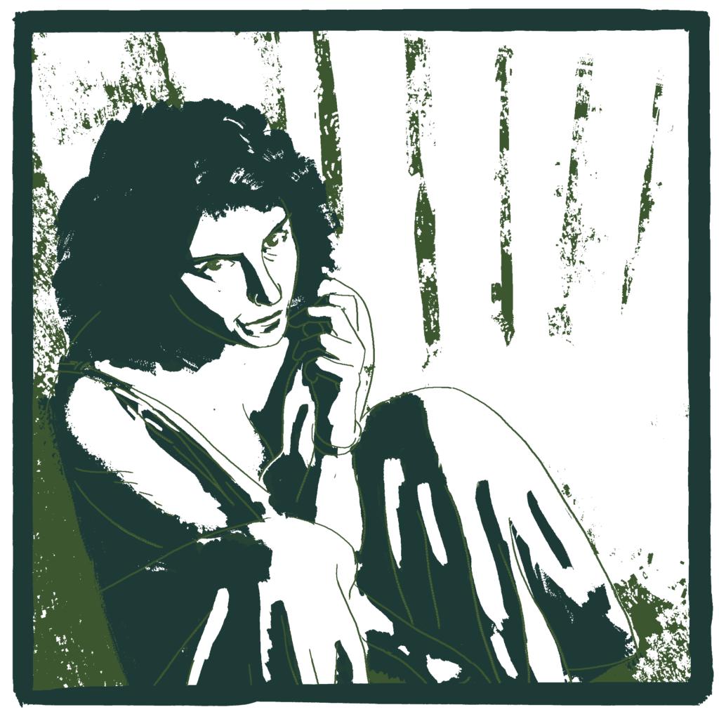 Ritratto di Giulia Paoli, disegnato da quasi